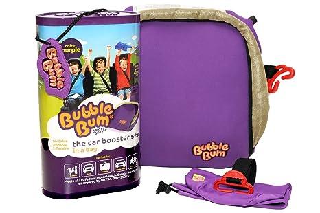 Bubble Bum BBB0002 Alzador Infantil Hinchable Para Niños De 15 A 36 kilos, Color Morado