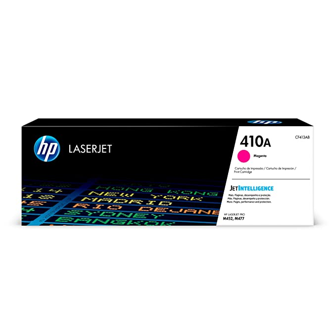 HP 410A CF413A Magenta Original LaserJet Toner Cartridge Toner Cartridges at amazon