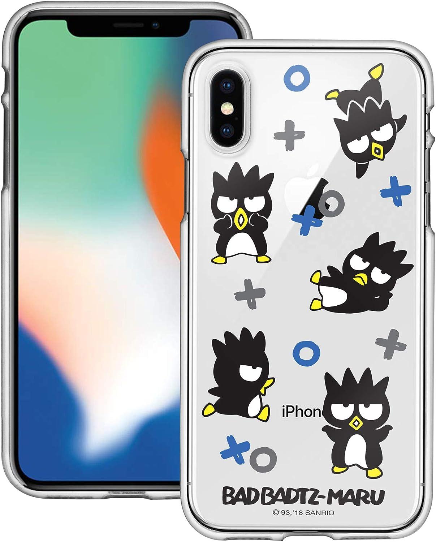 iPhone XR Case Sanrio Cute Border Clear Jelly Cover [ iPhone XR ] Case - Play Bad Badtz-Maru
