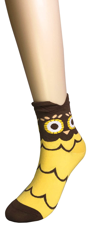 Amazon.com: WEILAI SOCKS Womens Fashion Cute Animal Design Colorful Antibacterial Breathable Dress Socks: Clothing