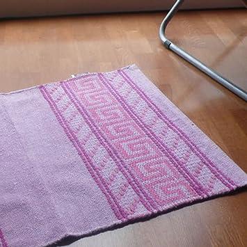 algodón toallas de mano/Alfombrilla antideslizante dormitorio absorbente/ alfombra de baño de la colada-rosa 60x90cm(24x35inch): Amazon.es: Hogar