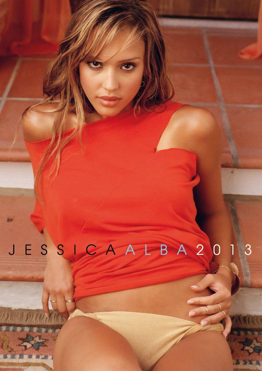 Jessica Alba 2013 Calendar (English, German and French Edition)