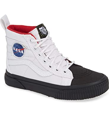 8be15bbf8530 Vans Kids X NASA Space Voyager SK8-Hi MTE Shoes (10.5 M US Little