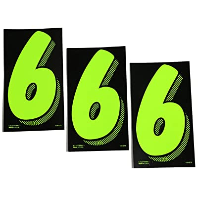 7 1/2 Green Chartreuse Pricing Numbers for Car Dealers 3 Dozen (# 6's): Automotive