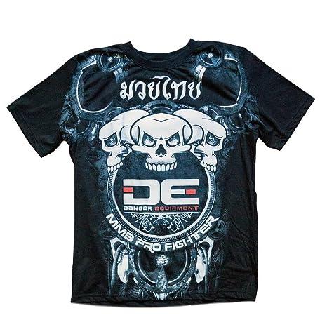 """Danger """"Calavera Muay Thai, MMA – Camiseta ..."""