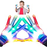 superwinky Toys for 3-12 Year Old Boys Girls, Colorful Flashing Finger Gloves for Kids Cool Toys for Teen Boys Girls Age 3-12