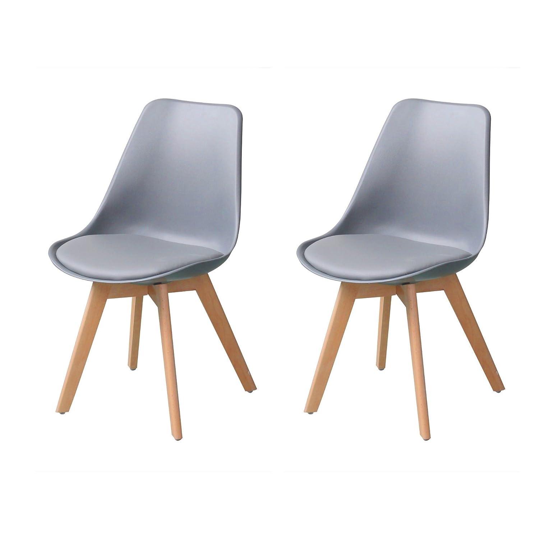 Ebs My Furniture 2er Set Esszimmerstuhl Wohnzimmerstuhl Mit Pu Leder