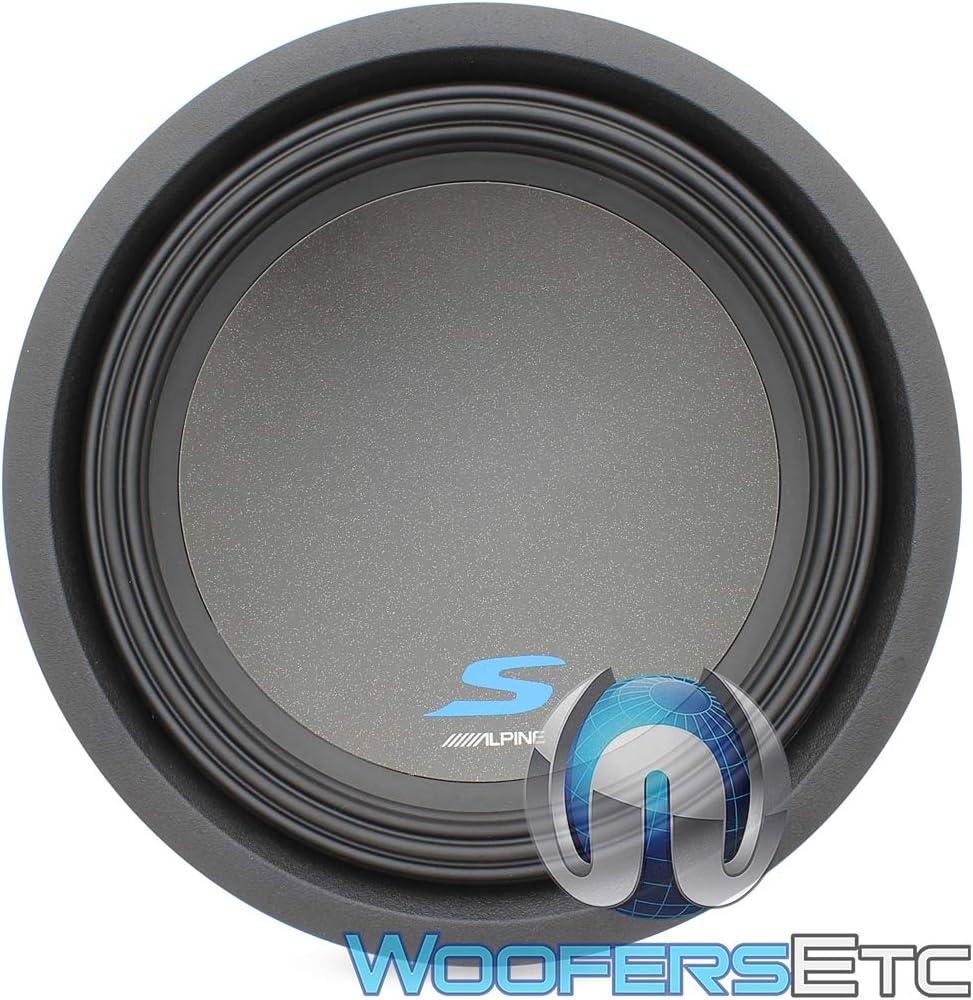 Alpine S-W10D4 S-Series 10 Dual 4-Ohm Subwoofer