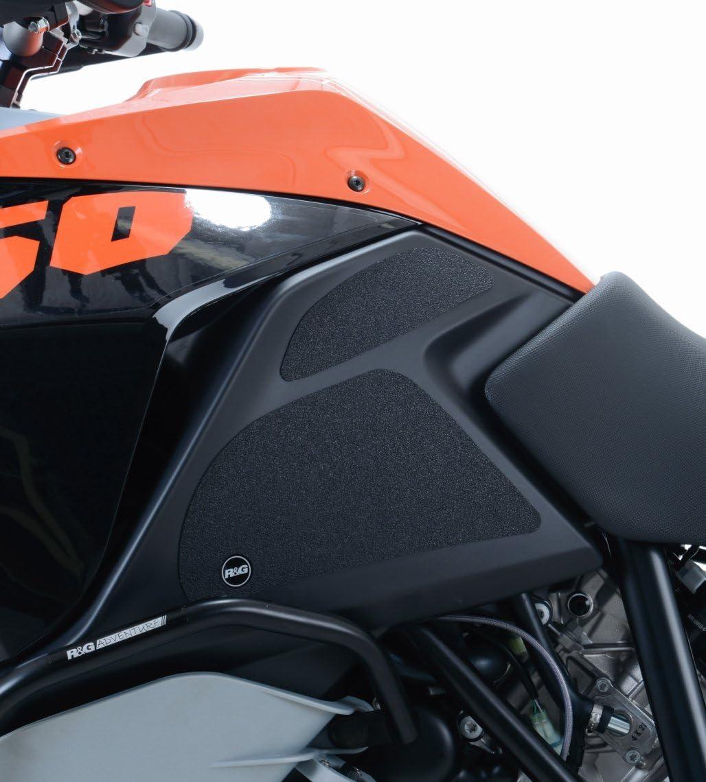 Kit grip de r/éservoir R/&G RACING 4 pi/èces noir KTM 1290 Super Adventure