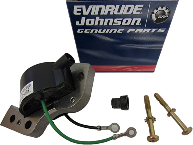 New IGNITION COIL for Johnson Evinrude 1955-1989 0582995 0584477 Outboard Engine