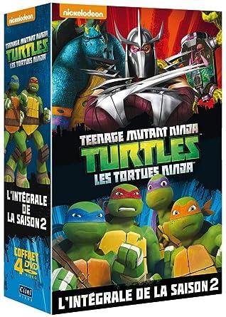 Amazon.com: Les Tortues Ninja - Lintégrale de la saison 2 ...
