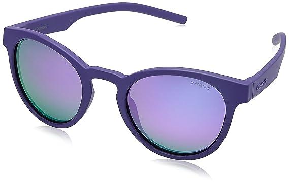 Polaroid Unisex-Erwachsene Sonnenbrille Pld 6033/S 5X Pjp, Blau (Bluette/Grey Grey), 57