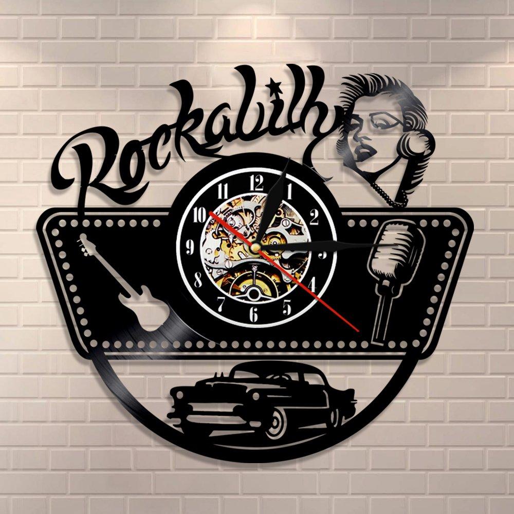Meet Beauty Reloj de Pared con Rock Band de Placas de Vinilo ...