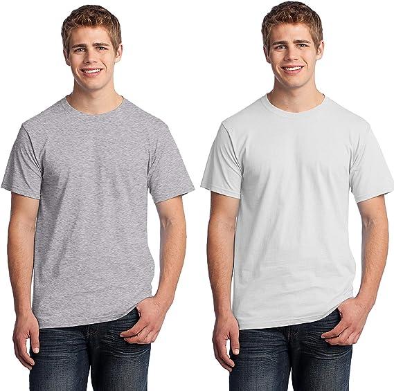 SS008 Fruit Of The Loom camiseta de la camiseta de algodón pesado: Amazon.es: Ropa y accesorios