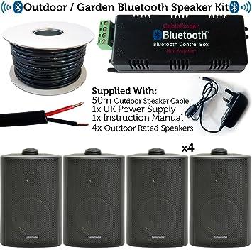 Exterior/externo Bluetooth sistema de altavoces – fiesta en el jardín barbacoa Kit – 30