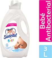 Suavitel Suavizante De Ropa Suavitel Cuidado Superior Bebé Antibacterial 3 Lt, Pack of 1
