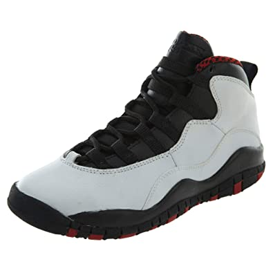 new product 9115e c3172 Amazon.com | Air Jordan 10 Retro Big Kids Style: 310806-100 ...