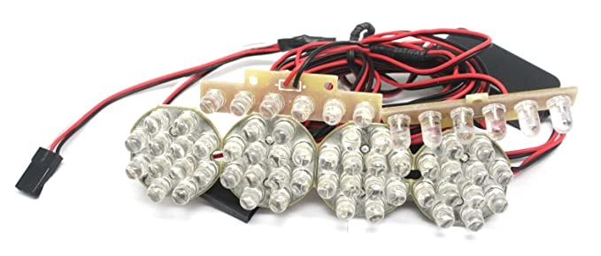 amazon com gt power large 1 8 to 1 5 scale bright led kit off road
