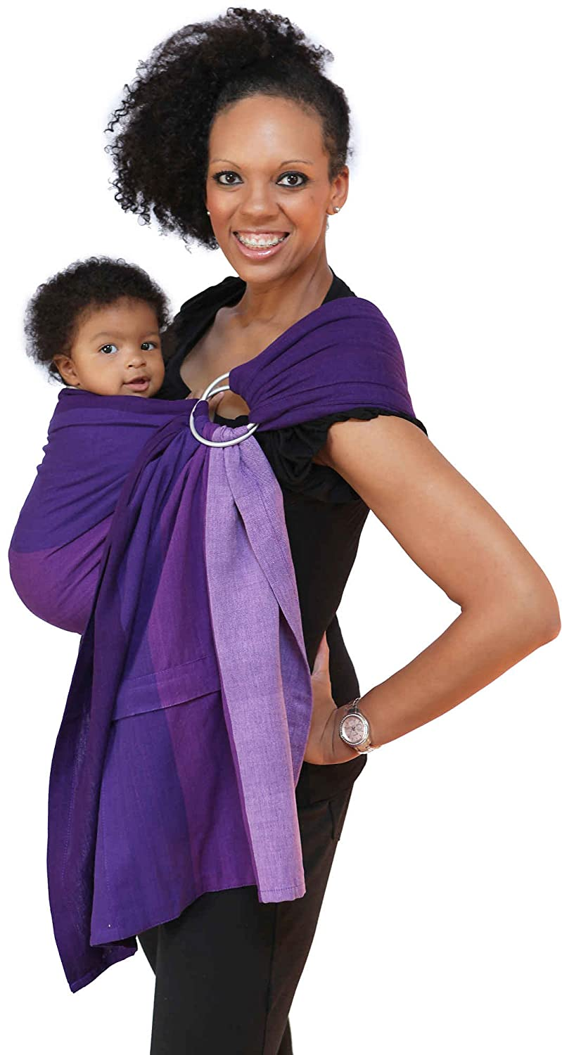 Maya Wrap Lightly Padded Ring Sling – Isle of Skye – Large