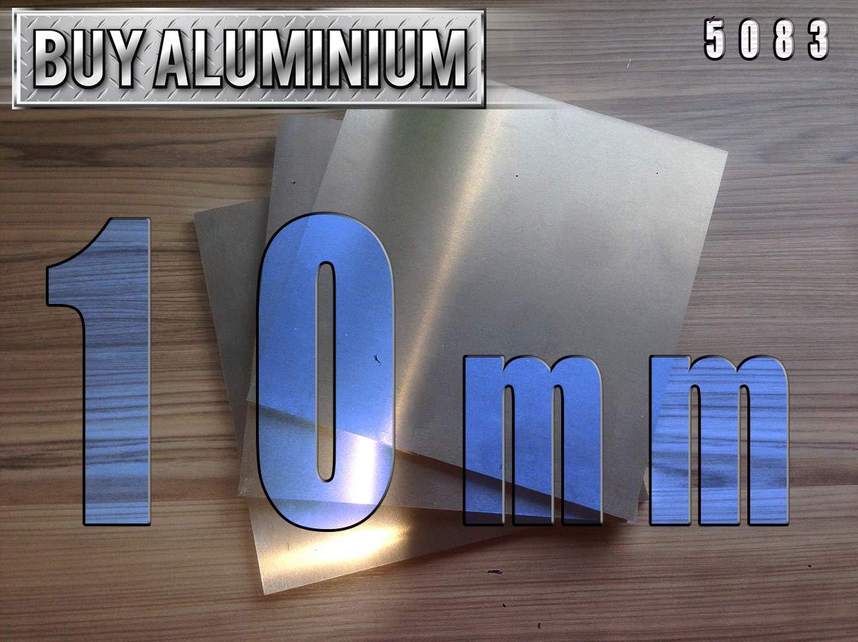 10mm Aluminium Plates//Sheets 100mm x 100mm