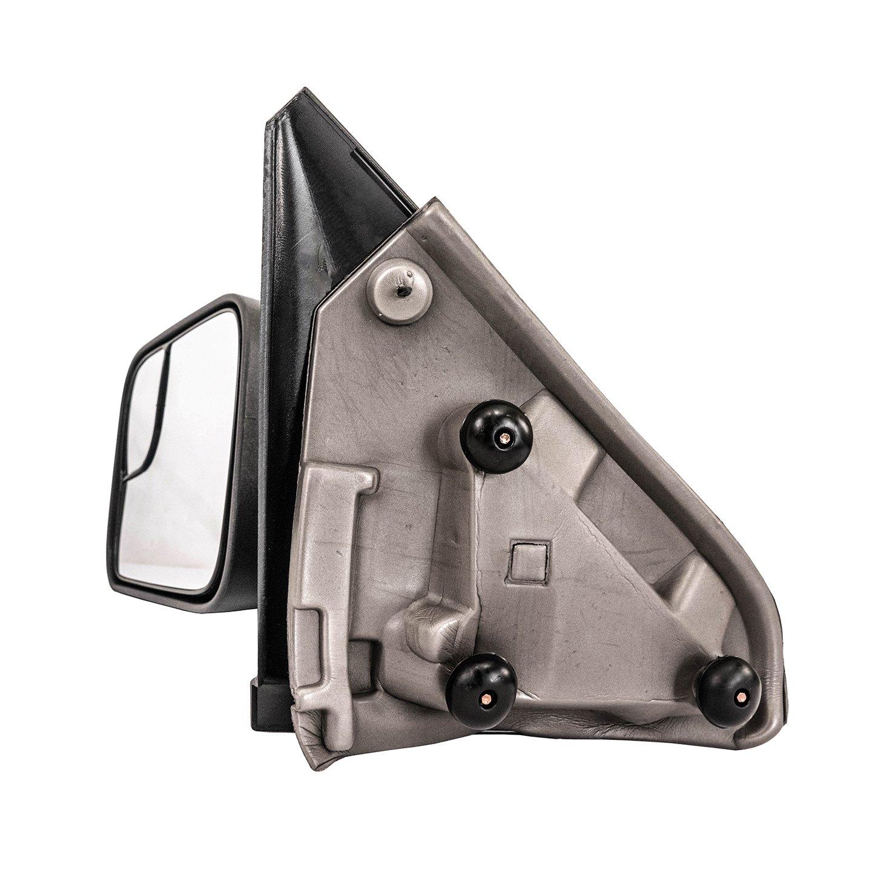 Black Pair Set Galaxy Auto Towing Mirrors for 2002-08 Dodge RAM 1500 /& 2003-09 Dodge RAM 2500//3500 Manual