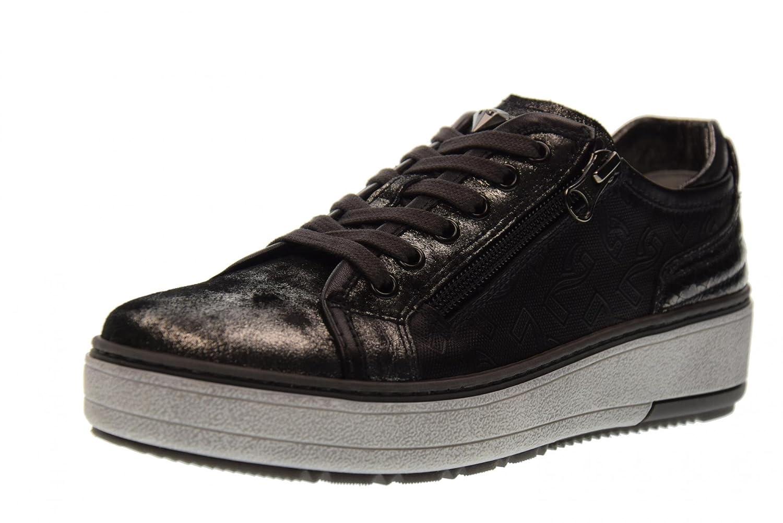 schwarz Giardini Schuhe Frauen Niedrige Turnschuhe A719581D 141 Steel