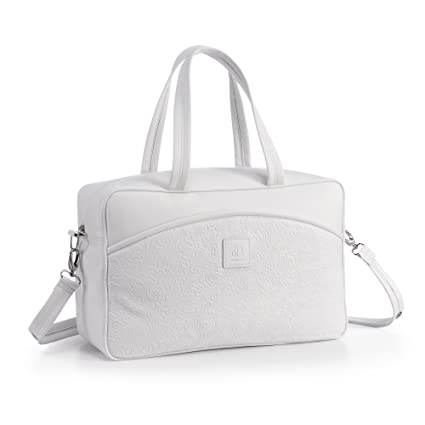 Alondra Barocco 1200-710 - Bolso maternidad, color blanco