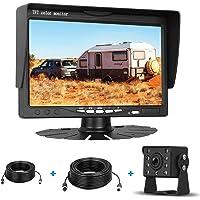 Emmako HD 720P Backup Camera and 7-in Monitor Kit