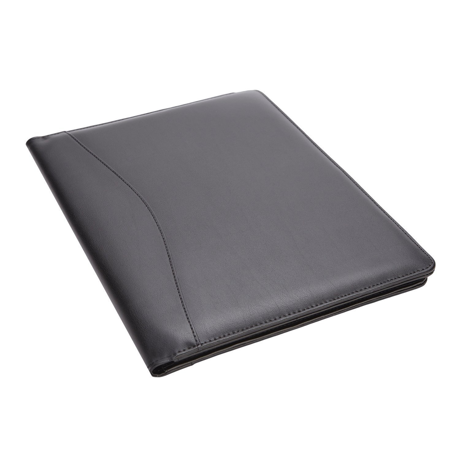 Royce Leather Royce Leather Aristo Padfolio, Matte Black