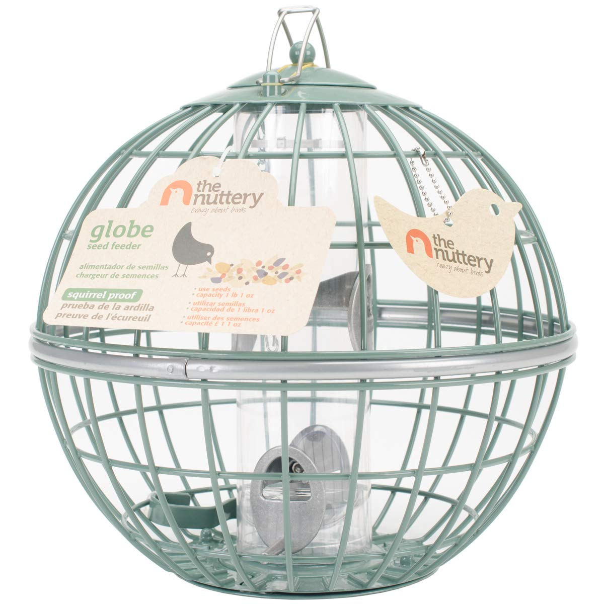 The Nuttery NT071 Globe Seed Feeder by The Nuttery