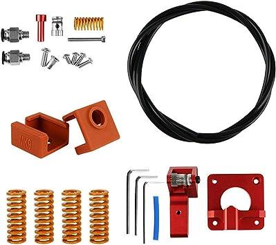 TOOGOO Accesorios para Impresoras 3D PTFE Spring Dual Gear ...
