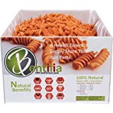 Bentilia Red Lentil Rotini 5lbs Bulk Case - 1 Single Ingredient 100% Natural Non-GMO, Gluten Free Pasta