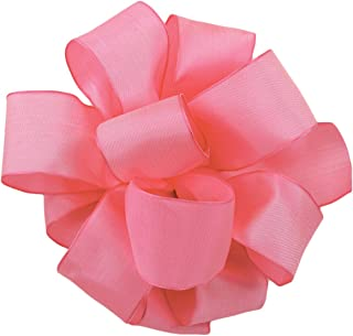 product image for Offray Wired Edge Gelato Craft Ribbon, 1-1/2-Inch Wide by 25-Yard Spool, Hot Pink