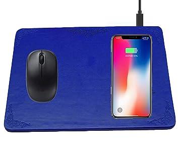 Cargador inalámbrico en almohadilla para ratón USB: Amazon ...