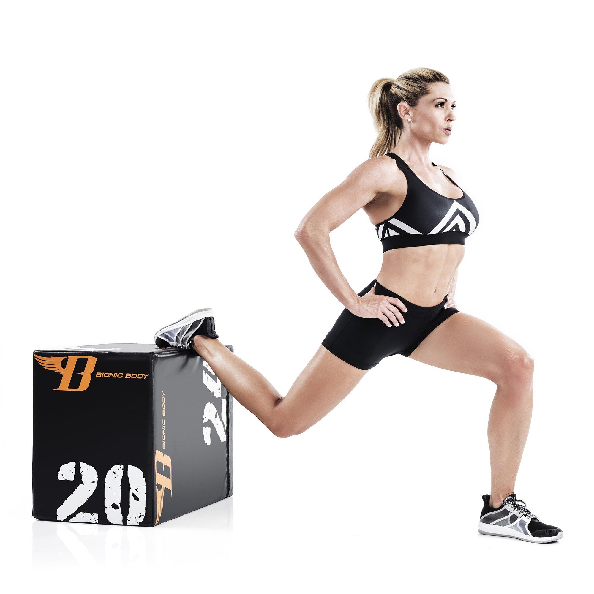 Bionic Body Plyo Exercise Box Plyometric Box with Soft Cover BBPB-1106 by Bionic Body (Image #4)