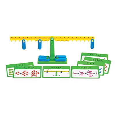 Edx Education Number Balance Activity Set - Math Balance - Counting Toy - Learn Addition, Subtraction and Multiplication: Industrial & Scientific