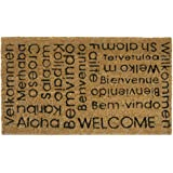 Rubber Cal Welcome Doormat, 18-InchX30-Inch