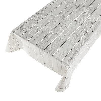 1,4 M ² haga-wohnideen.de wood couverture lavable en pVC largeur 140 cm