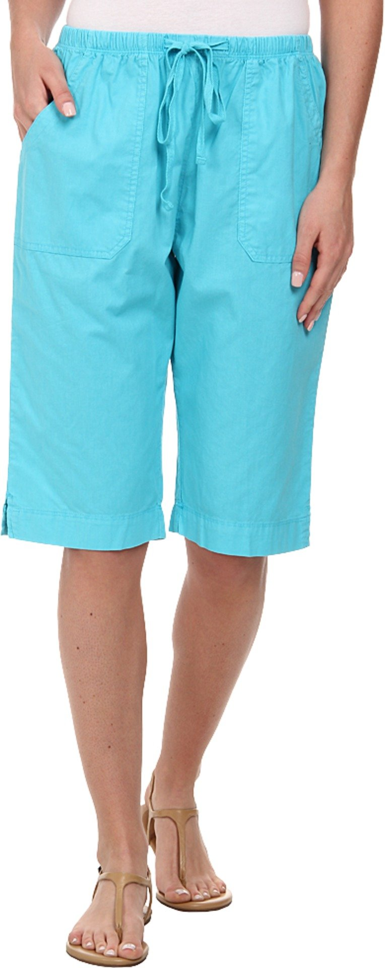 Fresh Produce Women's Park Avenue Pedal Pusher Luna Turquoise Shorts