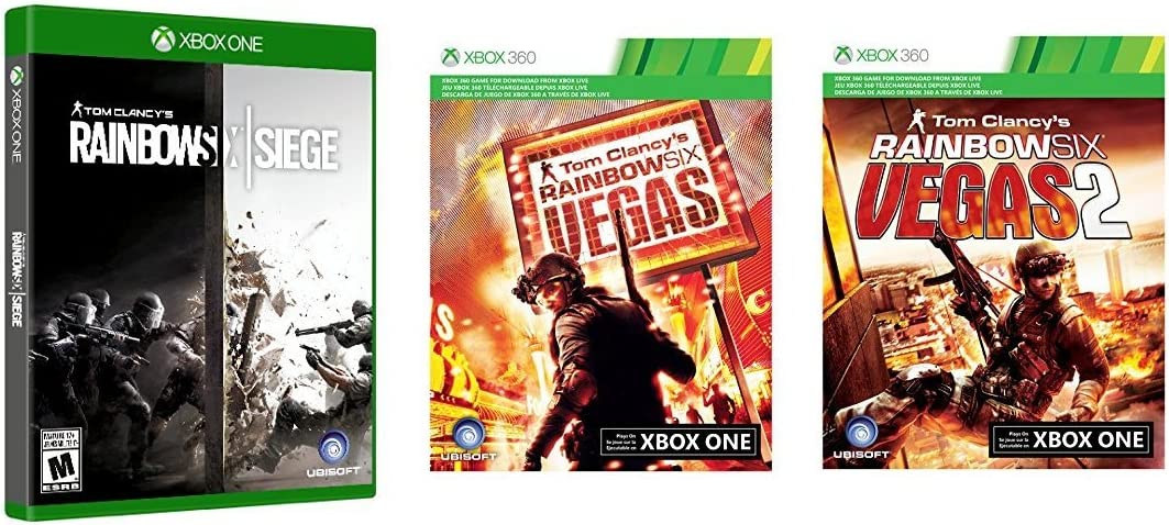 Microsoft Una consola Xbox 1 TB - Tom Clancy Rainbow Six asedio ...
