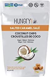 Hungry Buddha Coconut Chips, Salted Caramel, 1.4 Kilogram (12/80g)