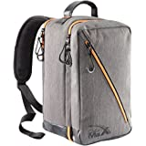 Oxford Stowaway Bag - 20x35x20cm - Carry On Bag Elegante Cabin perfetto per indennità di Ryanair Second bag (Grigio)