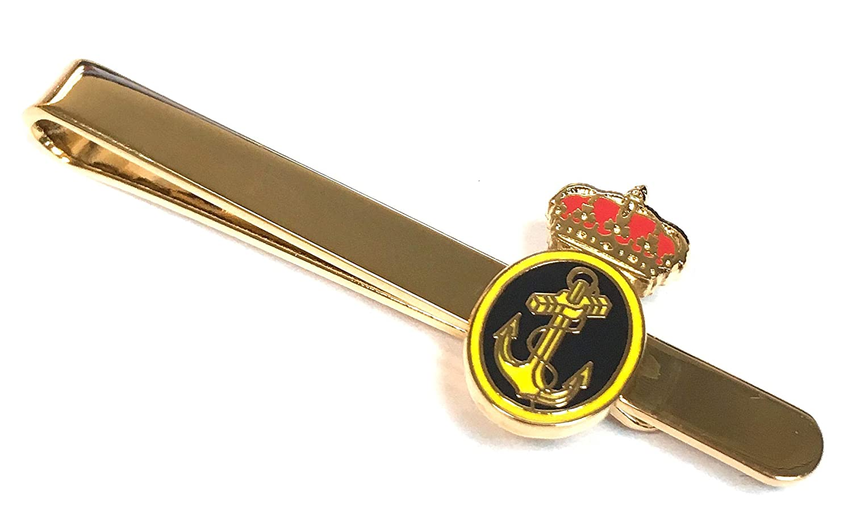 Gemelolandia Pasador de Corbata Emblema Armada Española: Amazon.es ...