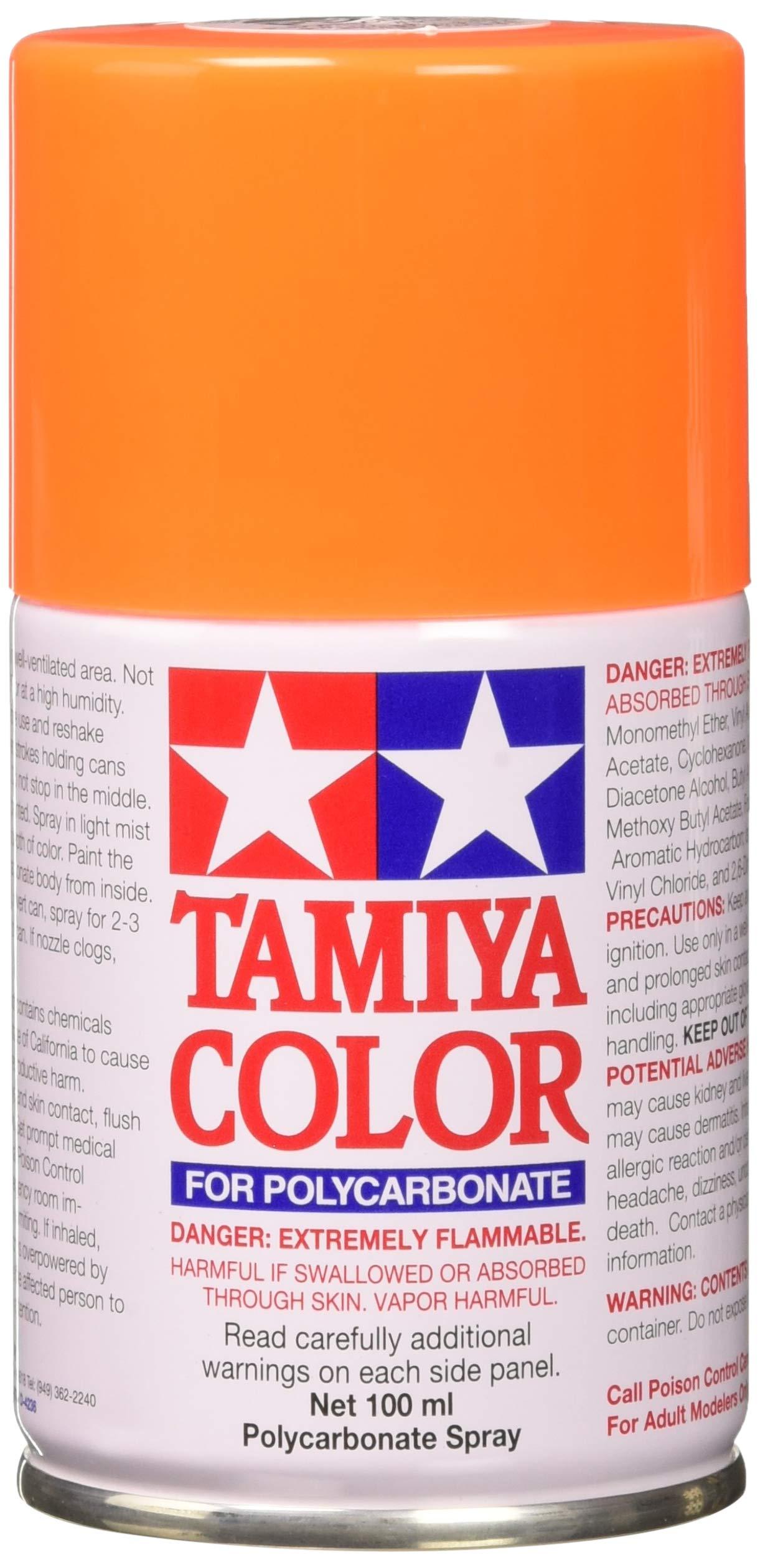 Tamiya 86024 Paint Spray, Fluorescent Orange
