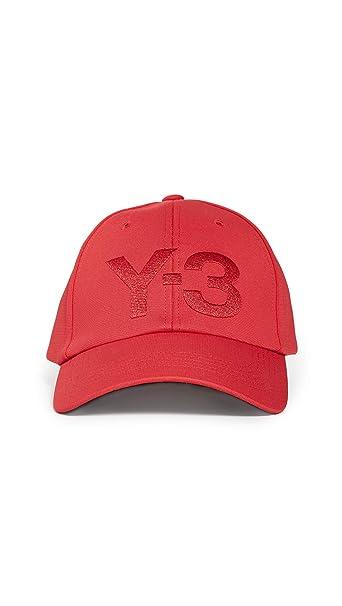 adidas Y-3 Gorra con Logo para Hombre - Rojo - Talla única: Amazon ...