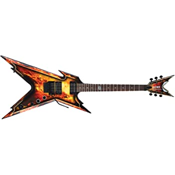 Amazon Com Dean Dimebag Razorback Explosion Guitar Case