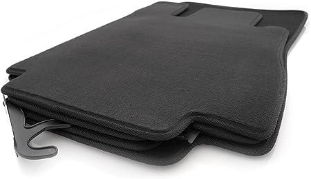 Kh Teile Fußmatten Velours Automatten Original Qualität Stoffmatten 4 Teilig Schwarz Auto
