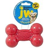 JW Pet Company Megalast Bone Dog Toy, Medium (Colors Vary)