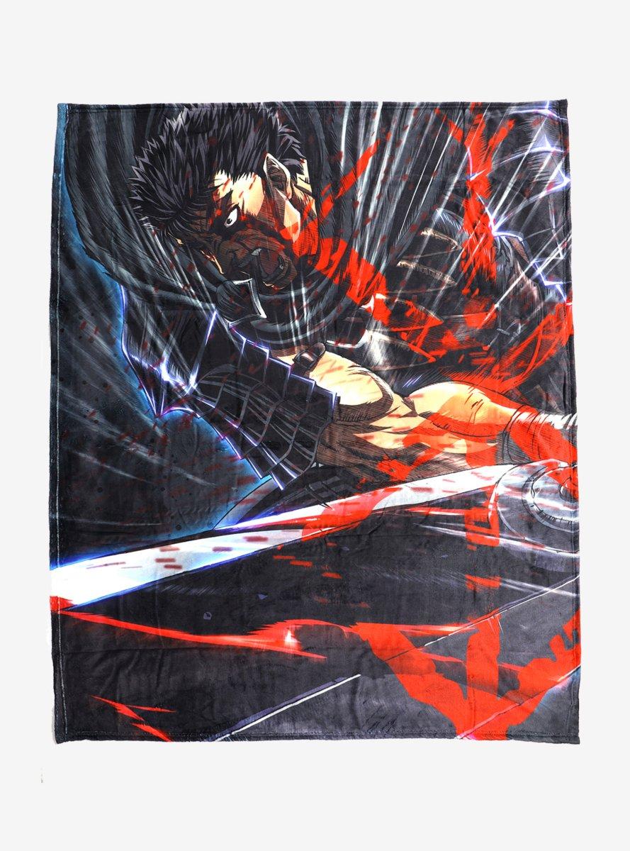 Berserk Guts Sword Throw Blanket B077TZMT1B