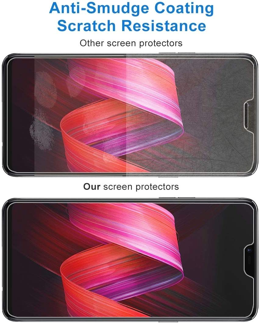 100 PCS 9H 2.5D Tempered Glass Film for Oppo R15 YINZHI Screen Protector Film R15 Pro Clear
